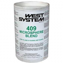 West System 409 Microsphere Blend for Filling and Fairing GRP Boats 100g